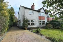 5 bed semi detached property in Gravel Lane, Wilmslow...