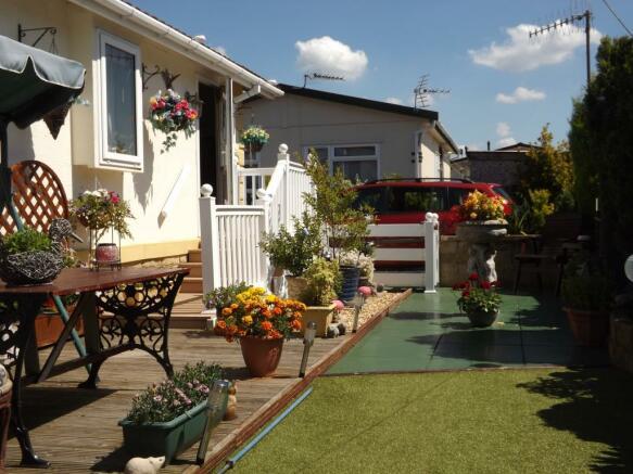 Rear Garden/Terrace