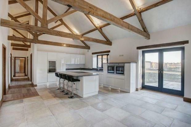 4 Bedroom Barn Conversion For Sale In Caston Road Rocklands
