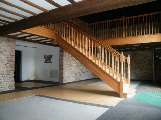 Inside Tithe Barn