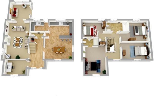 Floorplan - Plot 2