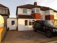 3 bed semi detached house in Cheriton Avenue...