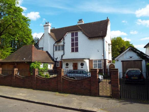 Front. 6 bedroom detached house for sale in Holcombe Road  Ilford  Essex  IG1