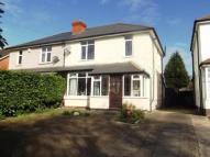 Birmingham Road semi detached property for sale