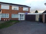 3 bedroom semi detached home in Fillingham Close...