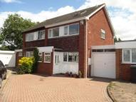 3 bed semi detached home in Hargrave Close...