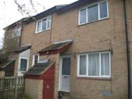 Terraced house in Merlin Walk, Eaglestone...