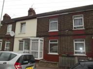 Terraced house in King Edwards Road...