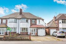 4 bed semi detached home in Court Oak Road...