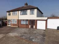 semi detached house for sale in Edison Close, Hornchurch...