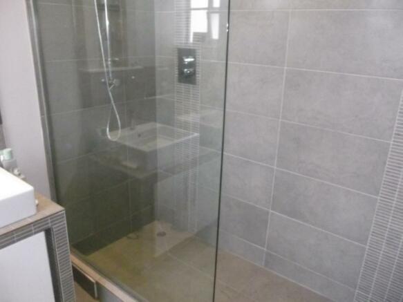 Ensuite Shower Area