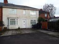 4 bed semi detached home in Vimy Road, Billesley...