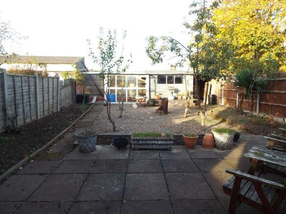 End of garden