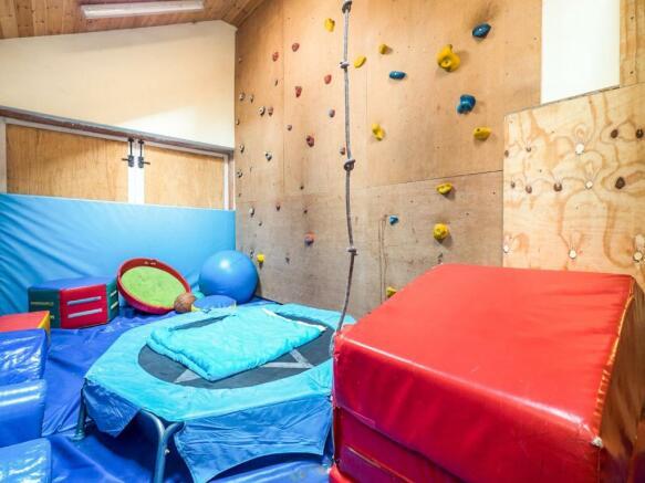 Playroom/Garage