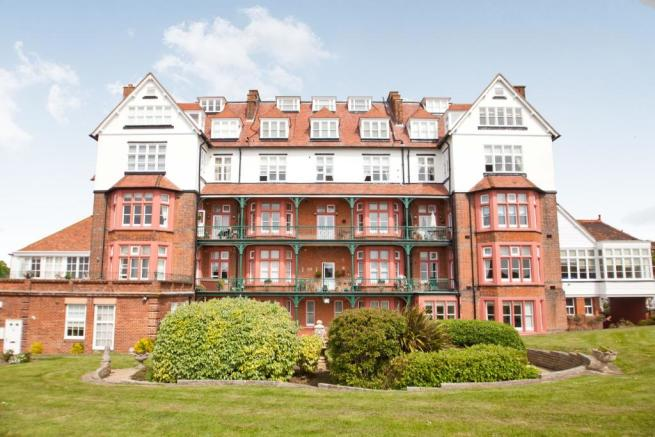 Rear of building