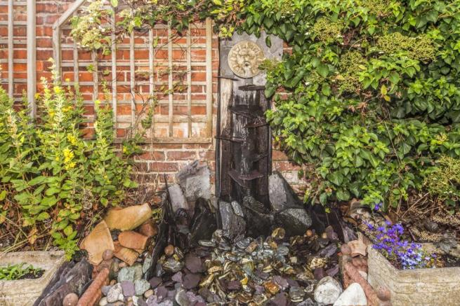 Rear Water Feature