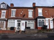 Terraced house in Hubert Road, Birmingham...