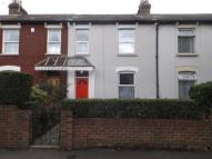 Terraced house in Wentworth Road...