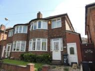 semi detached house in Coventry Road, Sheldon...