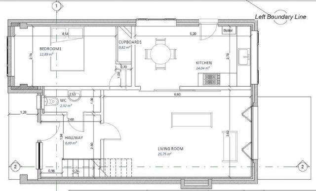 Downstairs floor pla