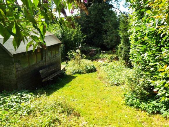Garden, lower level.