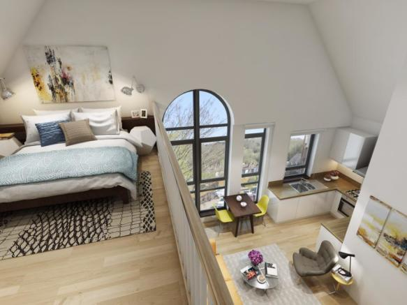 CGI Loft Apartment