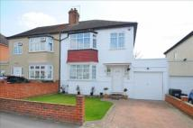 3 bed semi detached home in Carolina Road...