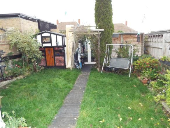Rear Garden with wor