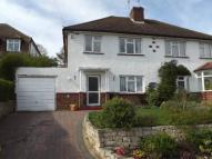 3 bedroom semi detached house in Seabrook Drive...