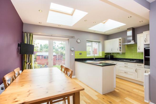 Extended Kitchen and