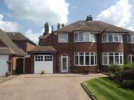 4 bed semi detached home in Denholm Road...