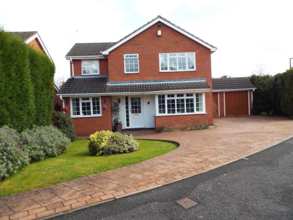 4 bedroom detached house for sale in teign tamworth staffordshire b77