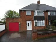 semi detached home for sale in Wilkes Avenue, Walsall...