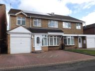 4 bed semi detached house in Bewley Road, Willenhall...