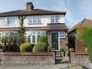semi detached home in Alexandra Road...