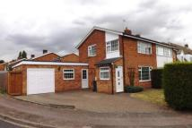 semi detached property for sale in Chase Close, Arlesey...