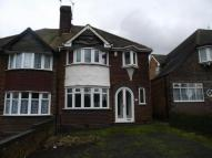 semi detached property in Garretts Green Lane...