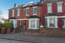 Terraced house in Balfour Road, Chatham...
