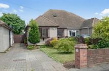 Bungalow in Rosedale Close, Dartford...