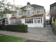 semi detached property in Footscray Road, London