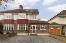 semi detached house in Brownspring Drive, London
