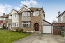 3 bed semi detached property for sale in Strathaven Road, London...