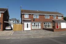 semi detached house in Laxton Way...