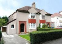 3 bedroom semi detached home for sale in Glasgow Road...