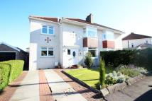 semi detached house for sale in Whirlow Road, Garrowhill...