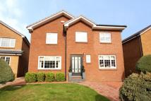 4 bed Detached property in Forres Gate, Giffnock...
