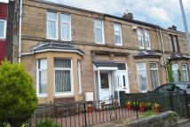 Terraced house in Albany Avenue, Glasgow...