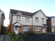 semi detached home for sale in Hardridge Road, Glasgow...