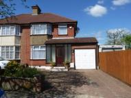 semi detached house for sale in Greenway Gardens, London...