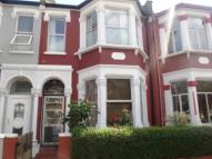 Terraced property in Frobisher Road, London...